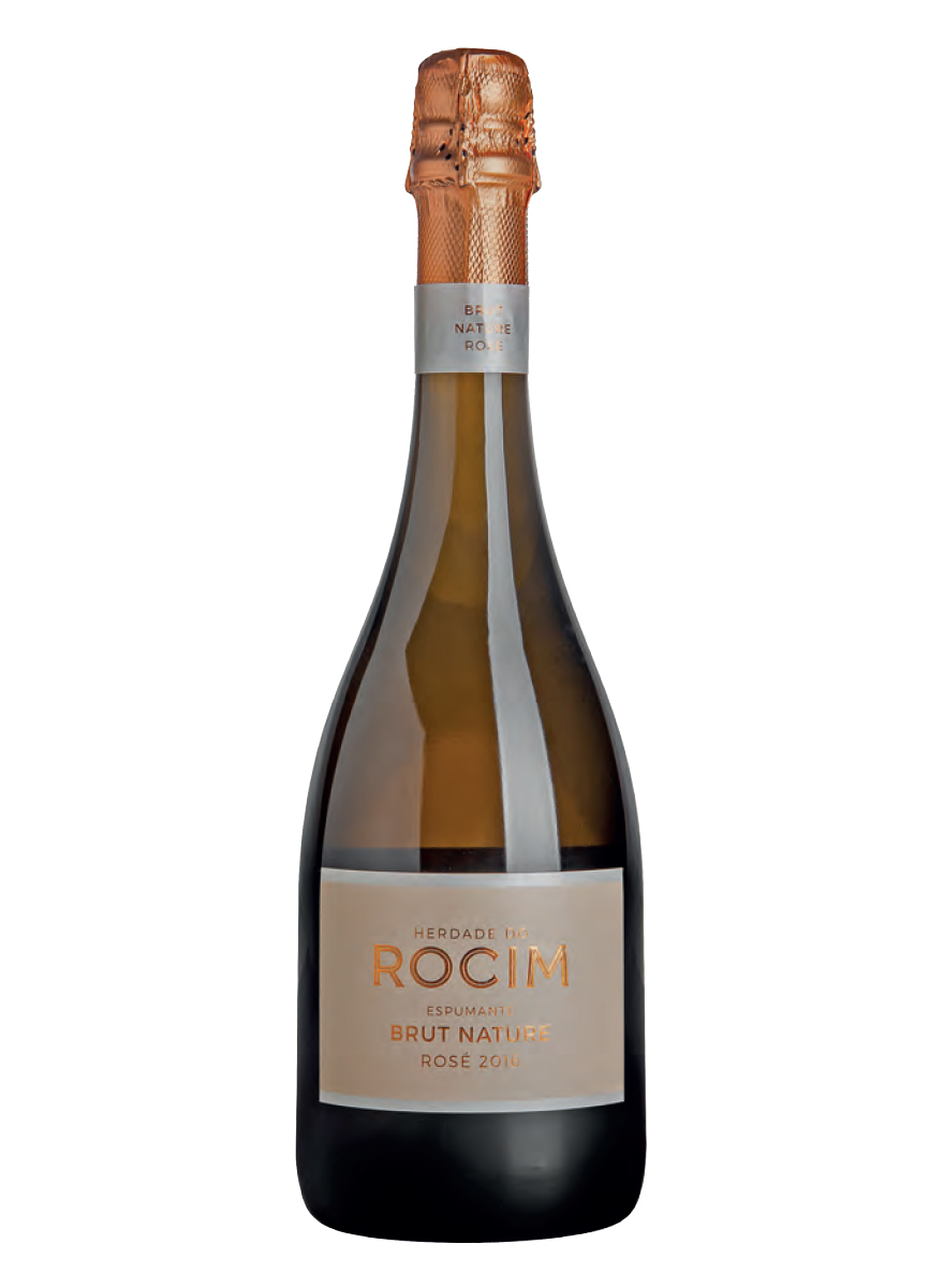 Herdade do Rocim Espumante Brut Nature Rosé